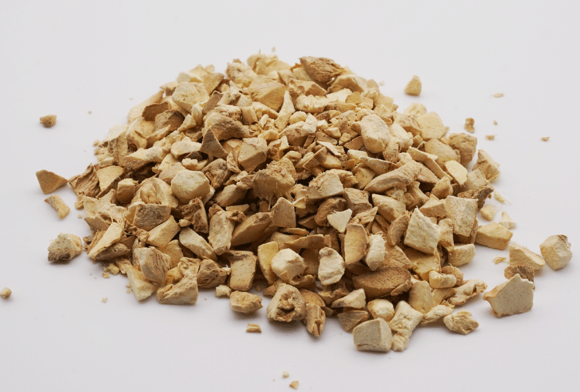 生姜(しょうきょう)  乾燥したショウガ